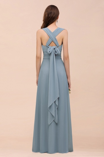Try at Home Sample Bridesmaid Dress Dusty Blue Burgundy_4