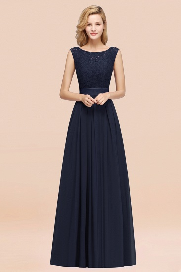 Vintage Sleeveless Lace Bridesmaid Dresses Affordable Chiffon Wedding Party Dress Online_28