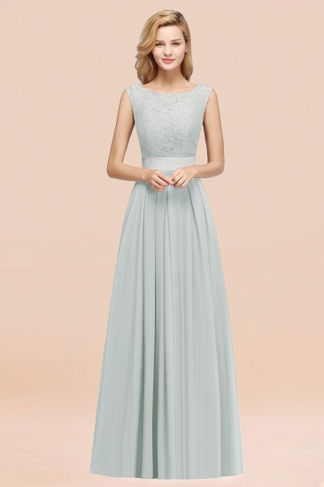 Vintage Sleeveless Lace Bridesmaid Dresses Affordable Chiffon Wedding Party Dress Online_38