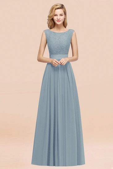Vintage Sleeveless Lace Bridesmaid Dresses Affordable Chiffon Wedding Party Dress Online_40