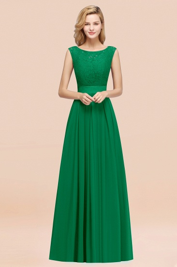 Vintage Sleeveless Lace Bridesmaid Dresses Affordable Chiffon Wedding Party Dress Online_49