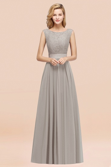 Vintage Sleeveless Lace Bridesmaid Dresses Affordable Chiffon Wedding Party Dress Online_30