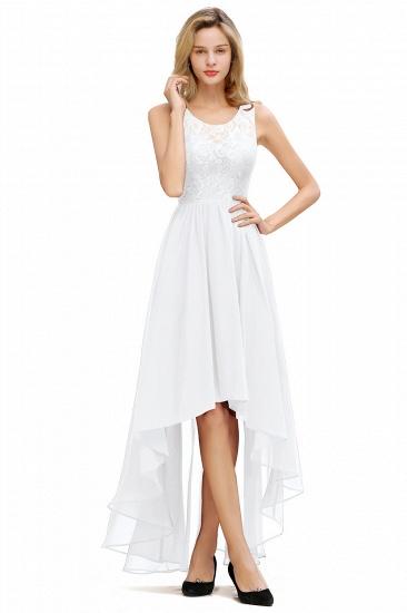 BMbridal A-line Hi-lo Chiffon Lace Bridesmaid Dress_1