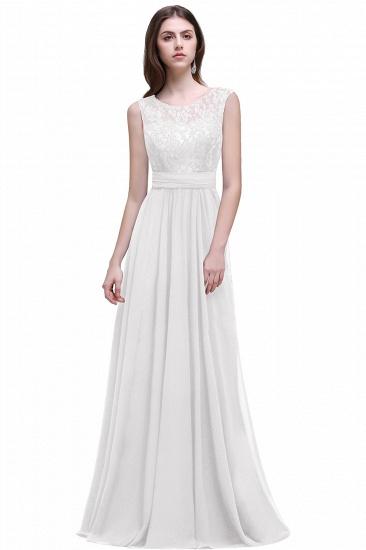BMbridal Sleeveless Lace Long Chiffon Prom Dress Online_1